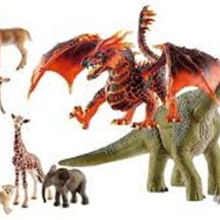 Animals from Schleich